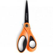 Dahle Color ID scissors asymmetric orange 21 cm