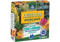 Agro Kristalon Autumn water-soluble universal fertilizer 0.5 kg for 250 l watering