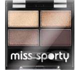 Miss Sports Studio Color Quattro Eye Shadow Eye Shadow 403 Smoky Brown Eyes 3.2 g