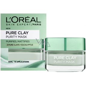 Loreal Paris Pure Clay Purity Mask Cleansing Mask 50 ml