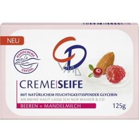 CD Almond Oil and Raspberry Glycerine Toilet Soap 125 g
