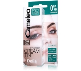 Delia Cameleo Progreen cream professional eyebrow color, ammonia-free 3.0 Dark Brown - dark brown 15 ml