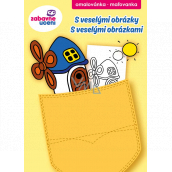Ditipo Pocket coloring pages With cheerful pictures for children 4+ 32 pages A6 105 x 148 mm