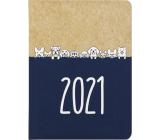 Albi Diary 2021 weekly Kraft Dogs 17 x 12.5 x 1.2 cm