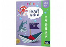 Albi Kvído Playful creation Pirate origami with game recommended age 5+