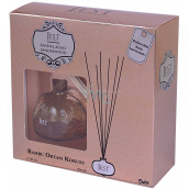 Cimen Jest Sandalwood design aroma diffuser with natural rattan sticks for gradual release of scent 100 ml