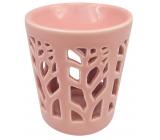 Aromalampa porcelain pink 13 cm