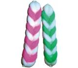 Abella Body massage washcloth - two-color braid 1 piece BW508
