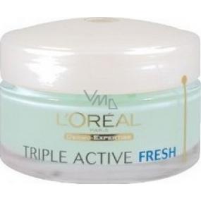 Loreal Paris Triple Active Fresh moisturizing gel cream for normal and combination skin 50 ml