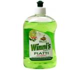 Winnis Eko Piatti Lime concentrated hypoallergenic dishwashing detergent 500 ml