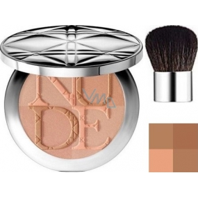 Christian Dior DiorSkin Nude Tan Couleur Eclat radiant powder shade 004 Sunset 10 g