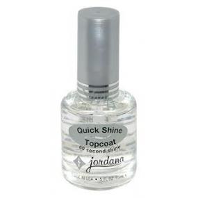 Jordana Topcoat Quick Shine Topcoat 413 15 ml