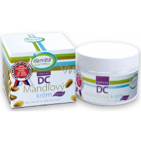 Damita Cosmetics DC nourishing almond cream daily for dry and sensitive skin 50 g