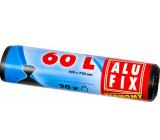 Alufix Economy Trash bags black, 13 µ, 60 liters, 60 x 71 cm, 20 pieces
