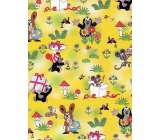 Nekupto Wrapping paper Little Mole yellow 70 x 100 cm 1 roll