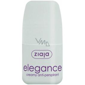 Ziaja Elegance Creamy ball antiperspirant deodorant cream roll-on for women 60 ml