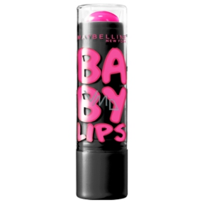 Maybelline Lips Electro Pink Shock Lip Balm with a soft color 4.4 g