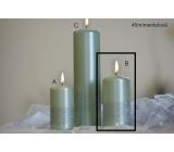 Lima Ribbon candle menthol cylinder 60 x 120 mm 1 piece