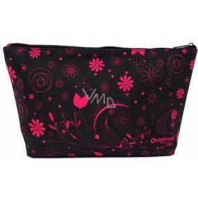 Albi Original Travel cosmetic bag Pink flowers 33 x 19 x 8 cm