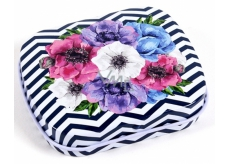 Albi Mini Can of Flowers black and white stripes 5 x 6 x 1.4 cm