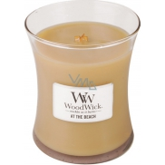 WoodWick Middle Candle Glass At the Beach 2500