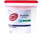 Savo Chlor Shock shock disinfection against algae in the pool 5 kg