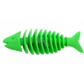 Sum-Plast Rubber Fish skeleton with the scent of vanilla toy for dogs more colors 14 cm