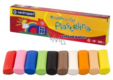 CENTROPEN School plasticine 200 g, 10 pcs
