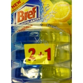 Bref Duo Active Extra Clean & Fresh Lemon WC gel replacement hinge 3 x 60 ml