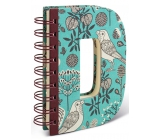 If Alphabooks Note Books Letter D 91 x 14 x 124 mm