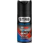 Str8 Cool + Dry Body React antiperspirant deodorant spray for men 150 ml