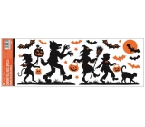 Room Decor Window foil without glue with glitter Halloween 59 x 21 cm no.4