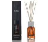 Millefiori Natural Vanilla & Wood Diffuser 12 stalks 35 cm in large space lasts 6-7 months 500 ml