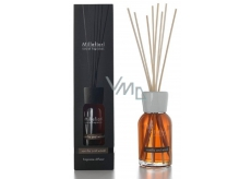 Millefiori Natural Vanilla & Wood Diffuser 12 stalks 35 cm in large space lasts 6-7 months 500 ml