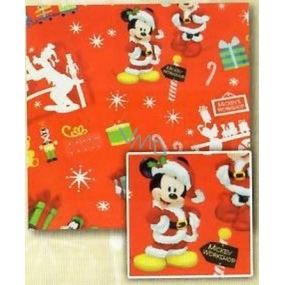 Nekupto Gift wrapping paper 70 x 150 cm Christmas Red, Mickey Mouse