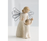 Willow Tree - Guardian Angel - Always Have Your Guardian Angel Over You The Angel's Figurine, height 12.5 cm