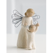 Willow Tree - Guardian Angel - Keep your Angel Guardian Angel of Willow Tree, height 12.5 cm above you.