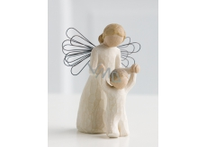 Willow Tree - Guardian Angel - Keep your Angel Guardian Angel of Willow Tree, height 12.5 cm above you.