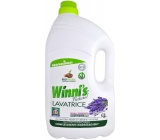 Winnis Eko Lavatrice Lavanda Lavanda washing gel for all types of fibers of fine and colored clothes 100 doses 5l