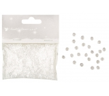 Decorative stones clear 3 mm 20 g