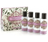 Somerset Toiletry White Jasmine Body Lotion 50 ml + shower gel 50 ml + shampoo n with hair 50 ml + hair conditioner 50 ml, gift travel set