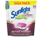 Sunlight Expert All in 1 Regular tablets in the dishwasher 52 tablets