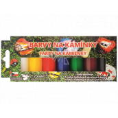 Kreativ Color Colors for rhinestones acrylic basic set 7 colors x 15 g
