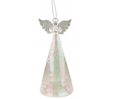 Angel glass illuminated LED 15 cm to stand