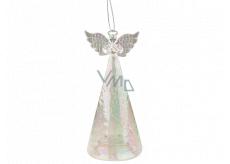 Angel glass illuminated LED 15 cm to stand