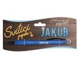Nekupto Glowing pen named Jakub, touch tool controller 15 cm