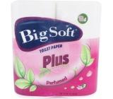 Big Soft Plus parfémovaný toaletní papír 2 vrstvý 4 x 160 útržků