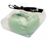 Fragrant Olive Garden Glycerine massage soap with a sponge filled with aroma and essences of green olives in green 200 g