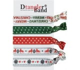 Dtangler Band Set Buble Merry Christmas gumičky do vlasů 5 kusů