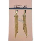 GIFT Nina Ricci L Extase earrings gold 7.5 x 1 cm 1 pair